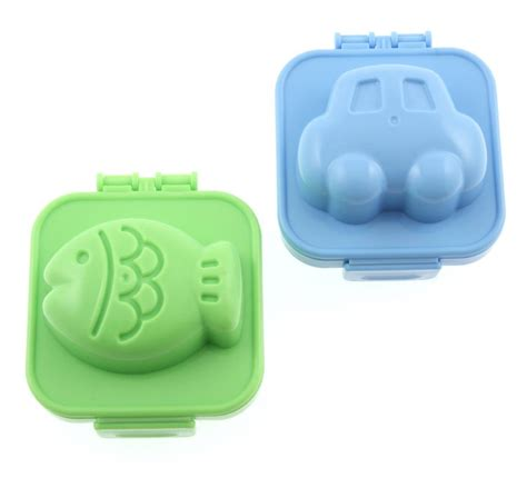 Egg Mold Rice Mold Bentuk Car Fish japanese bento accessory egg mold fish car for bento