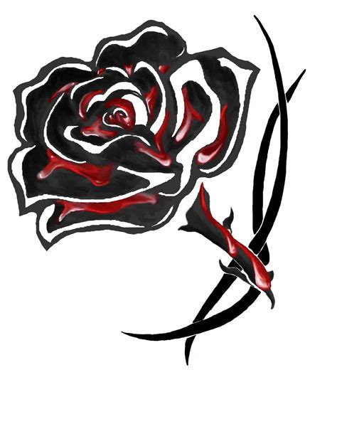 bloody rose tattoo top bloody drawing images for tattoos