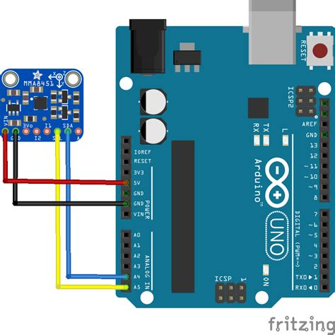 arduino code library mma8451 accelerometer get electronics