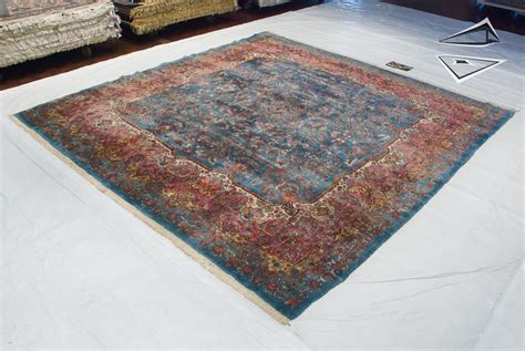 Large Square Rug by Kerman Square Rug 11 X 12
