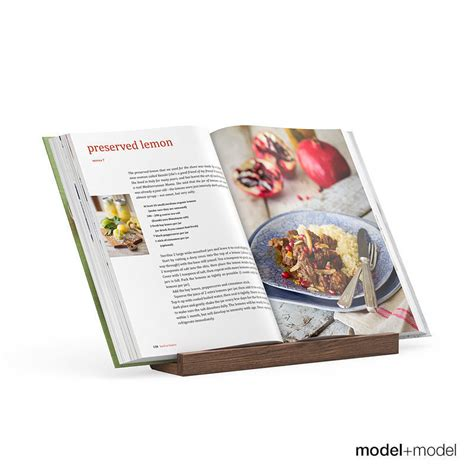 kitchen books with book stand 3d model max obj fbx