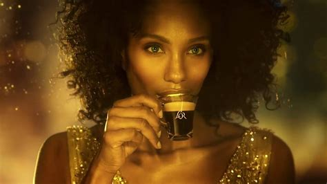 nespresso commercial female actress hermione de paula l or coffee commercial youtube