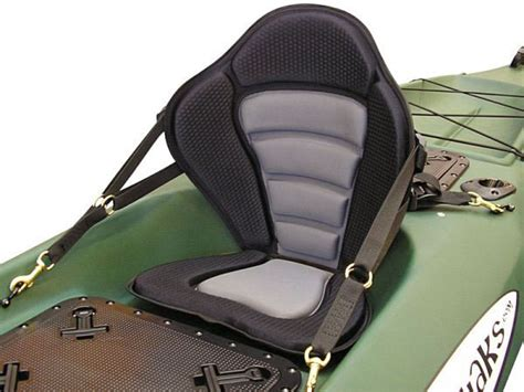 best high back kayak seat deluxe kayak fishing seats only 49 detachable fishing pack