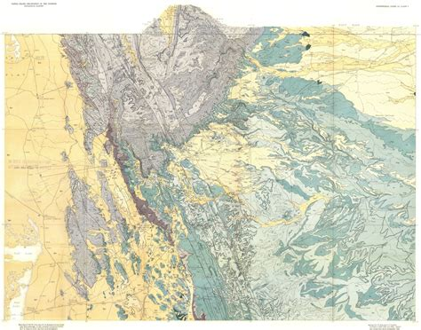 guadalupe mountains texas map wildly colorful geologic maps of national parks and how to read them wired