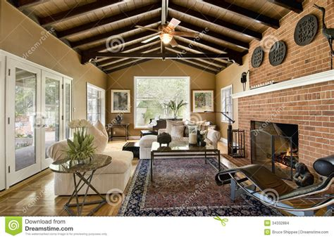 1800 Square Foot House living room stock images image 34332884
