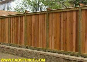eads fence co your super fence store wood privacy fences