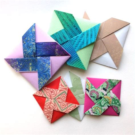 Folded Paper Cards - best 25 origami cards ideas on origami shirt