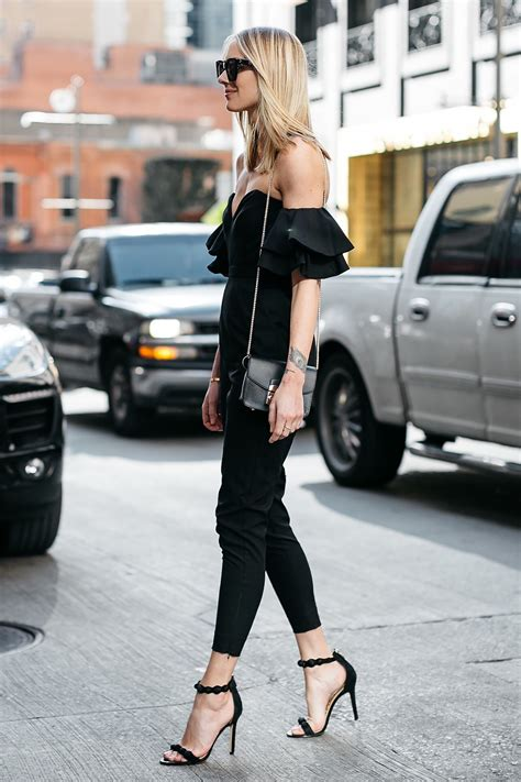 Furla Ripped Jumpsuit Murah a stylish black jumpsuit from bloomingdale s fashion jackson