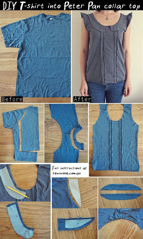 shirt pattern diy free sewing patterns projects on sew in love on