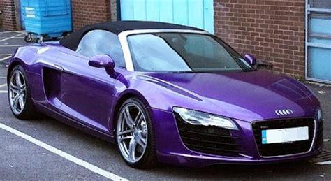Purple Audi R8 by Tulisa Contostavlos Purple Audi R8 Carz