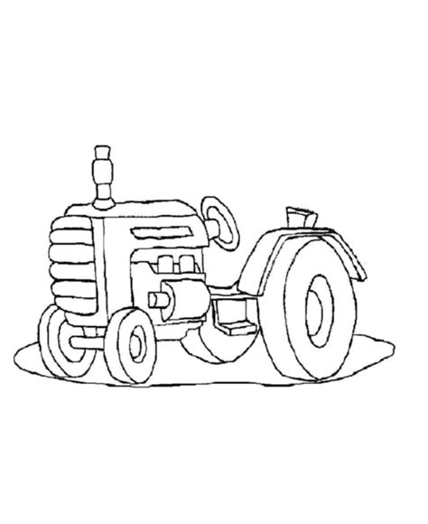 farm tractor coloring pages az coloring pages