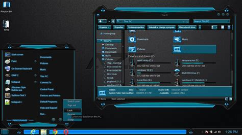 new themes for windows 8 1 2015 windows 8 1 theme blue aziz by newthemes on deviantart