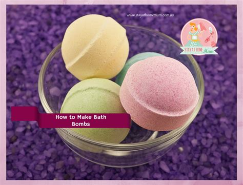 How To Make Shower Fizzies by How To Make Bath Bombs Stay At Home