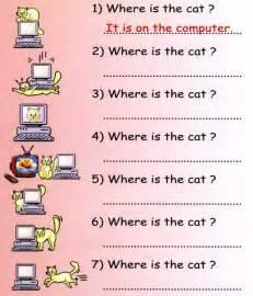 english grammar preposition worksheets for kids
