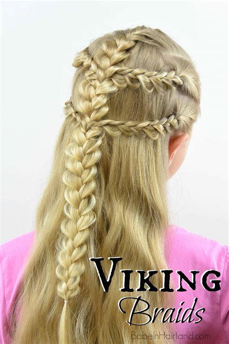 how to do viking braids viking braids babes in hairland