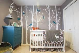 Woodland Nursery Decor Nursery Modern Woodland Nursery Baby Baby Showers Nurseries Baby