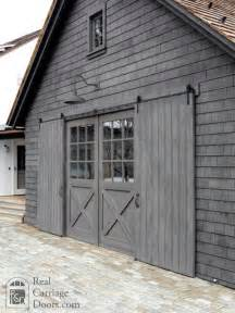 barn door style garage doors sliding barn door shutters garage doors by real