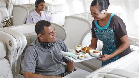 fiji airways seat selection airline review fiji airways business class