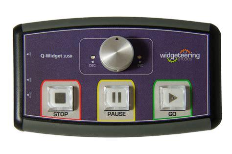 widget dual remote  qlab ableton scs sfx midi