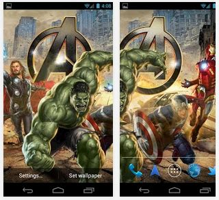 theme avengers apk download the avengers live wallpaper v2 2 apk download
