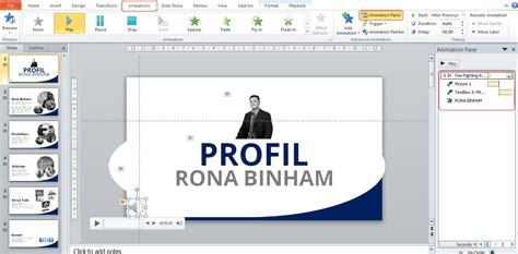 membuat tilan ppt lebih menarik cara membuat video personal profil keren dengan powerpoint