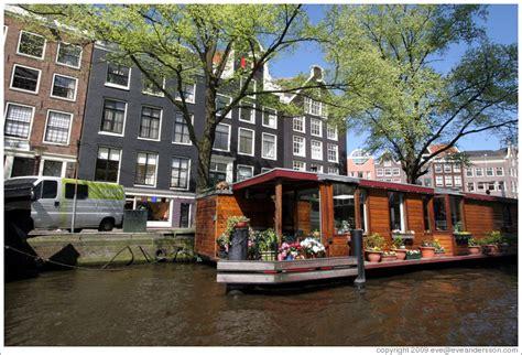 houseboat jordaan houseboat prinsengracht jordaan district photo id