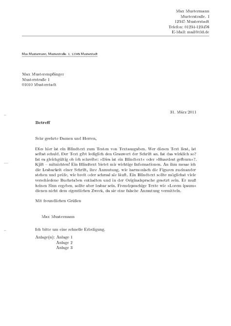 Letter Briefformat Template Brief Dsiw