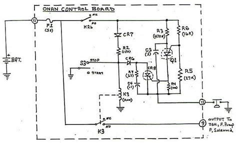 generator onan wiring circuit diagram get free image