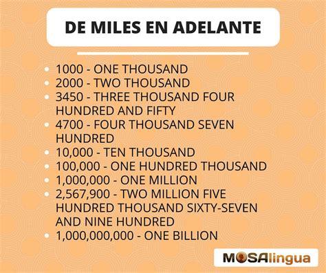 numeros del 1 al 2000 en ingles vespetcom n 250 meros en ingl 233 s de 1 a 1 mill 243 n pronunciaci 243 n y