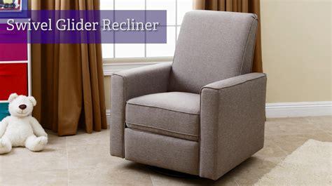 swivel glider recliner nursery abbyson living 174 emma nursery swivel glider recliner