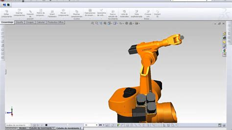 solidworks tutorial robot solidworks motion robot industrial youtube