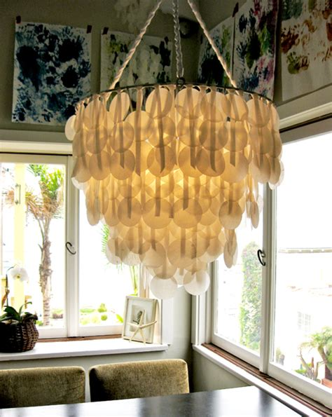 How To Make A Paper Chandelier - 21 creative diy lighting ideas