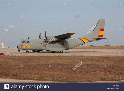 Airforce Search Air Casa Cn 235 Search And Rescue Sar Aircraft Stock Photo Royalty