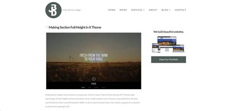 how to change default page template in x theme pagecrafter