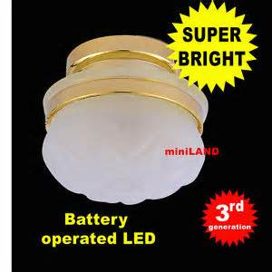 ceiling froste super bright battery operated led l