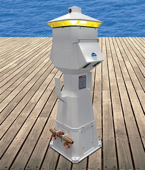 marina power and lighting eaton lighthouse power pedestal marina products