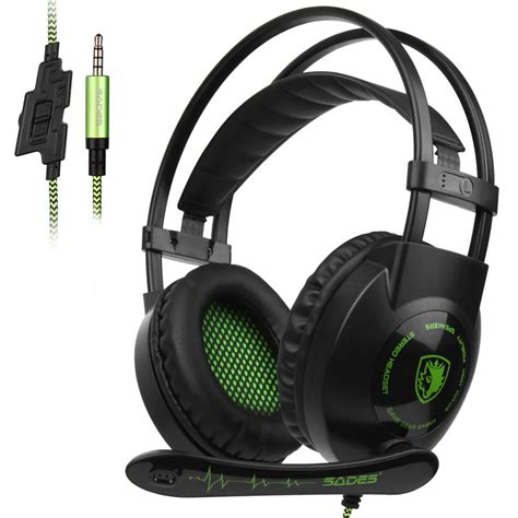 Marvo H8656 Wired Gaming Headset 1 sades sa801 stereo gaming headset headphone casque 3