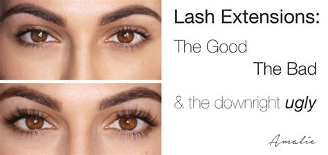 Lash For Eyelash Extension eyelash extension pros cons the the bad and the
