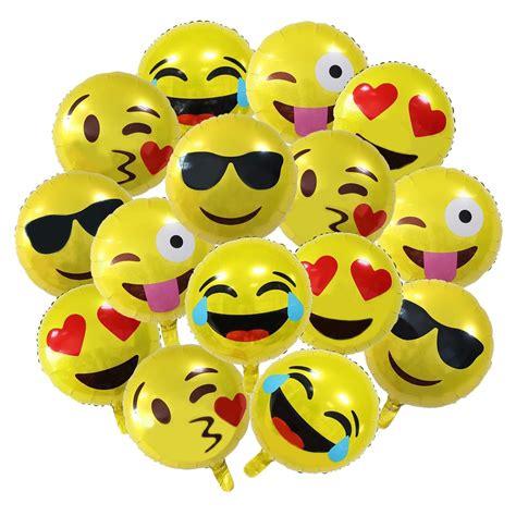 Balon Foil Emoji Birthday emoji birthday balloons birthday wikii