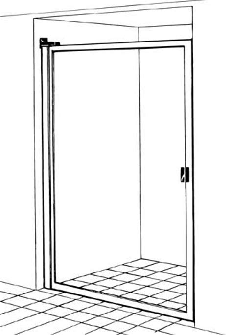 Shower Enclosures Sliding Shower Doors Barrier Free Shower Doors