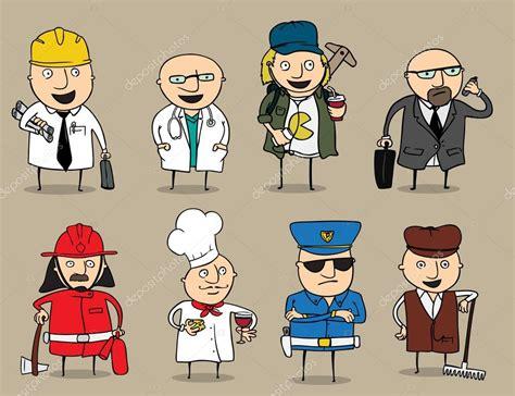 imagenes sarcasticas de trabajo colecci 243 n de dibujos animados hombres puestos de trabajo