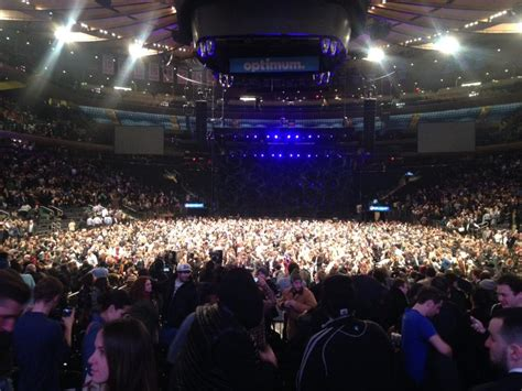 Madison Square Garden Section 2 Concert Seating