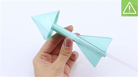 How To Make A Simple Paper Rocket - 4 easy ways to make a paper rocket wikihow