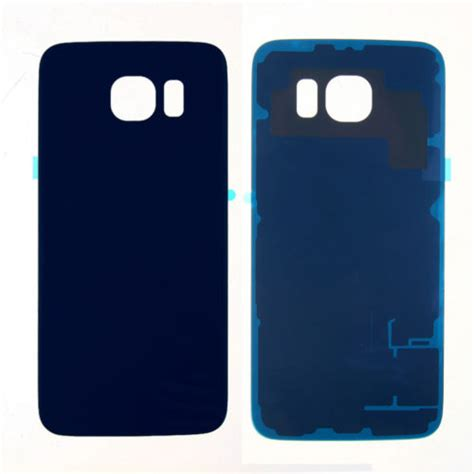 Black Iron For Samsung Galaxy S6 G920 Regular back cover battery door w adhesive for samsung galaxy s6
