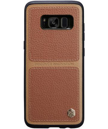 Samsung Galaxy S8 Nillkin Burt Back nillkin burt back cover samsung galaxy s8 plus bruin gsmpunt nl