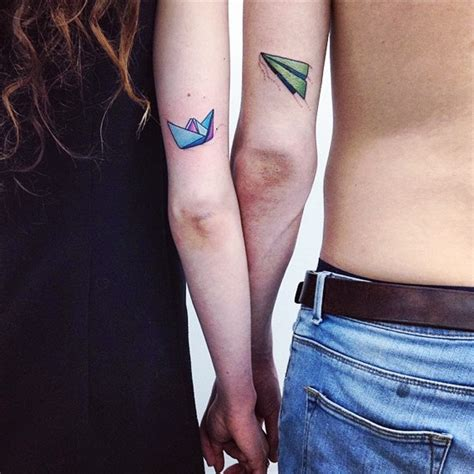 his and her couple tattoos his and hers matching tattoos designs ideas and meaning