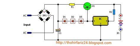 Baterai V Vgen C1 Power Mcom hobi oprek elektronika rangkaian pengisi battery 12 volt