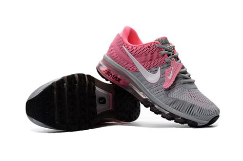 cheap nike air max 2017 leather gray pink black