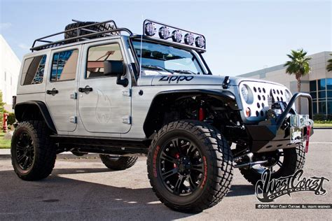 Car Names For Jeeps West Coast Customs Reveals Zippo Jeep At Watkings Glen