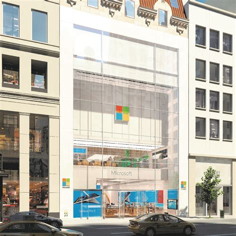 microsoft flagship stores in new york city and sydney get